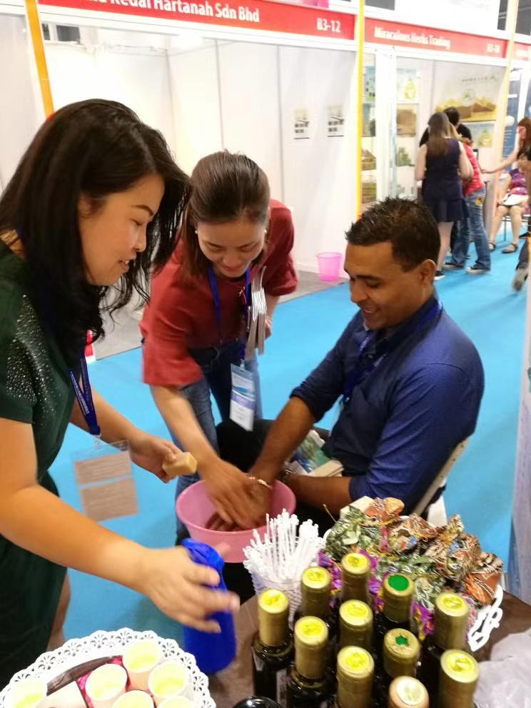 Exibition in Dongguan china guess fr mauritius